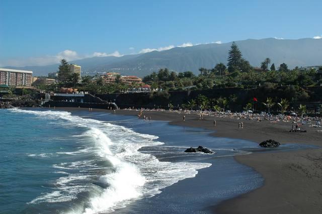 пляж Хардин Пуэрто де ла Круз